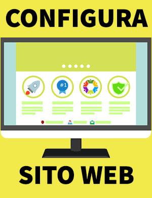configura sito web