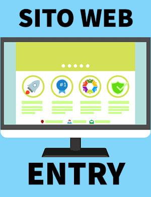 entry sito web